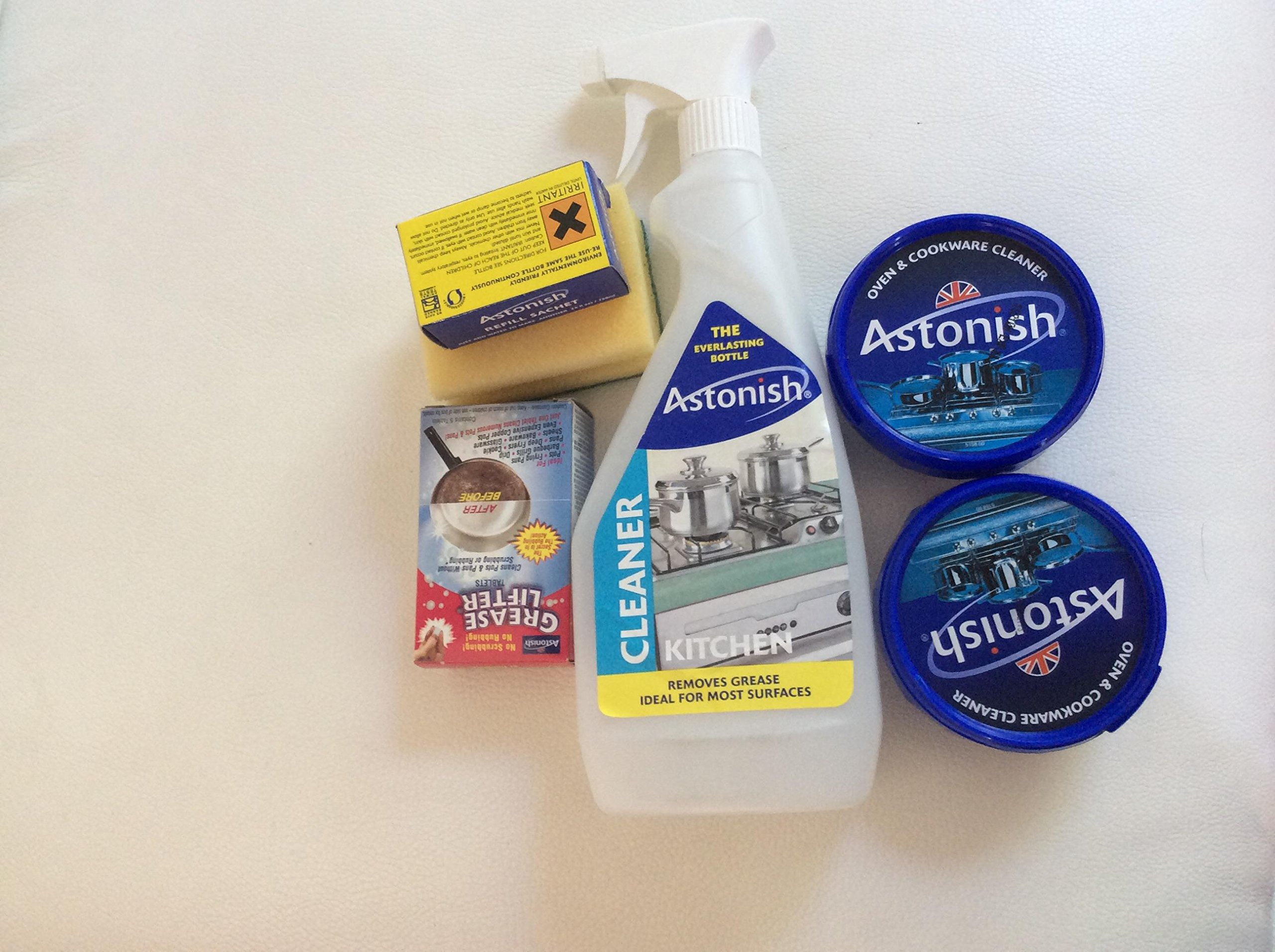 Astonish Oven & Cookware Cleaner and Grease Lifter Kit by Astonish