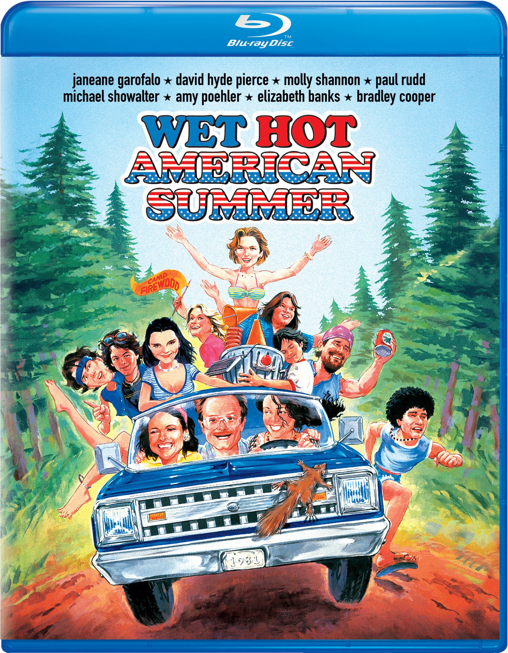 Blu-ray : Wet Hot American Summer (Snap Case, With Movie Cash)