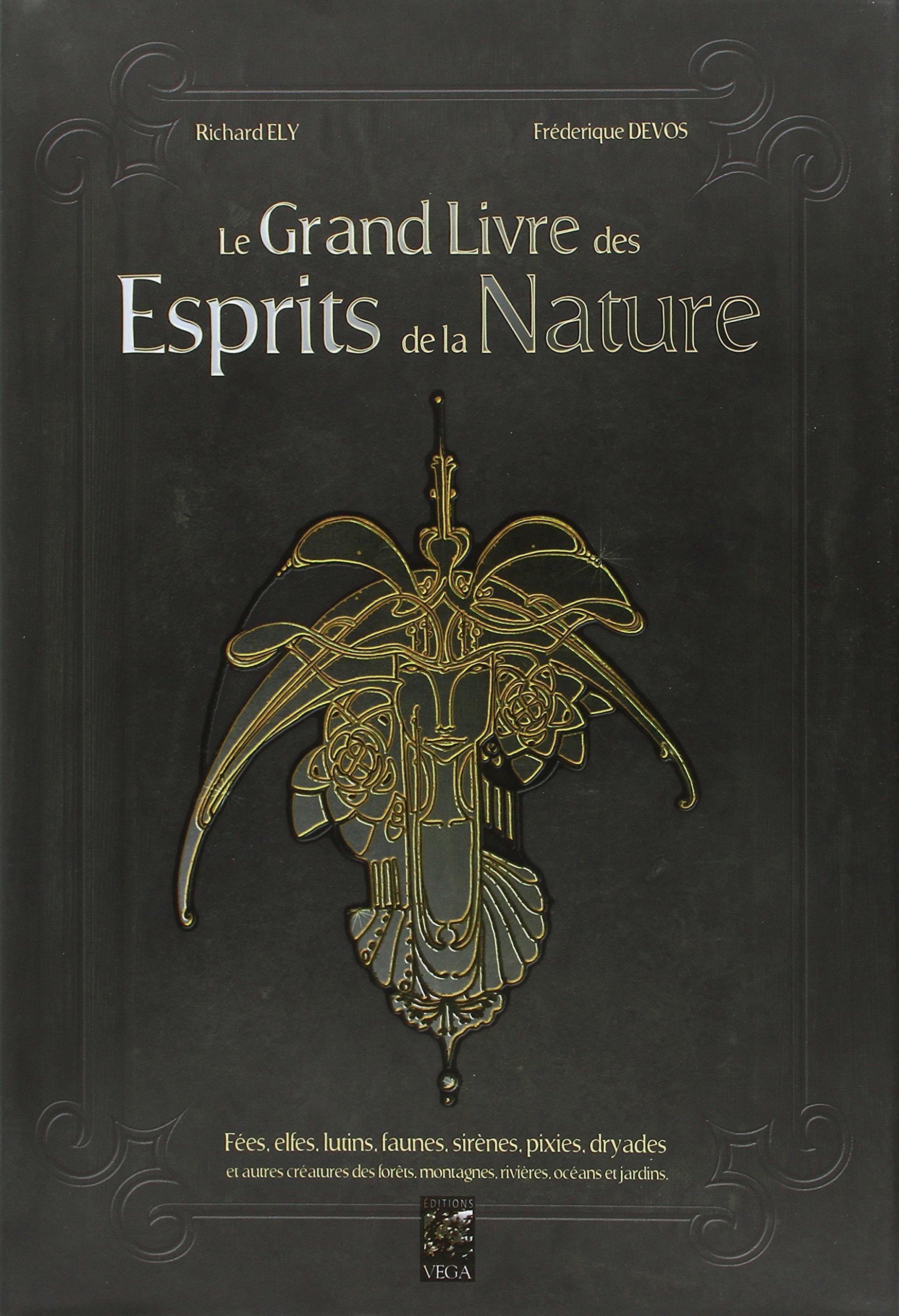 Amazonfr Le Grand Livre Des Esprits De La Nature Fées Elfes