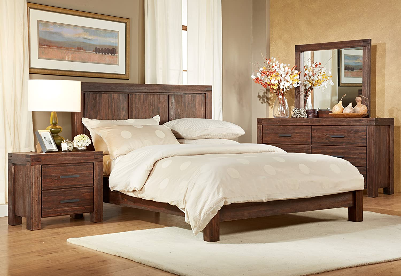 Superb Amazon.com: Modus Furniture 3F4182 Meadow Six Drawer Solid Wood Dresser,  Brick Brown: Kitchen U0026 Dining