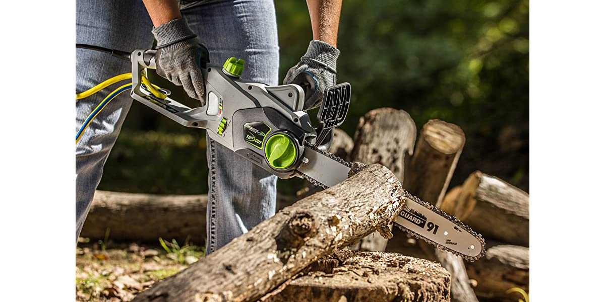 Corded Electric Chain Saw