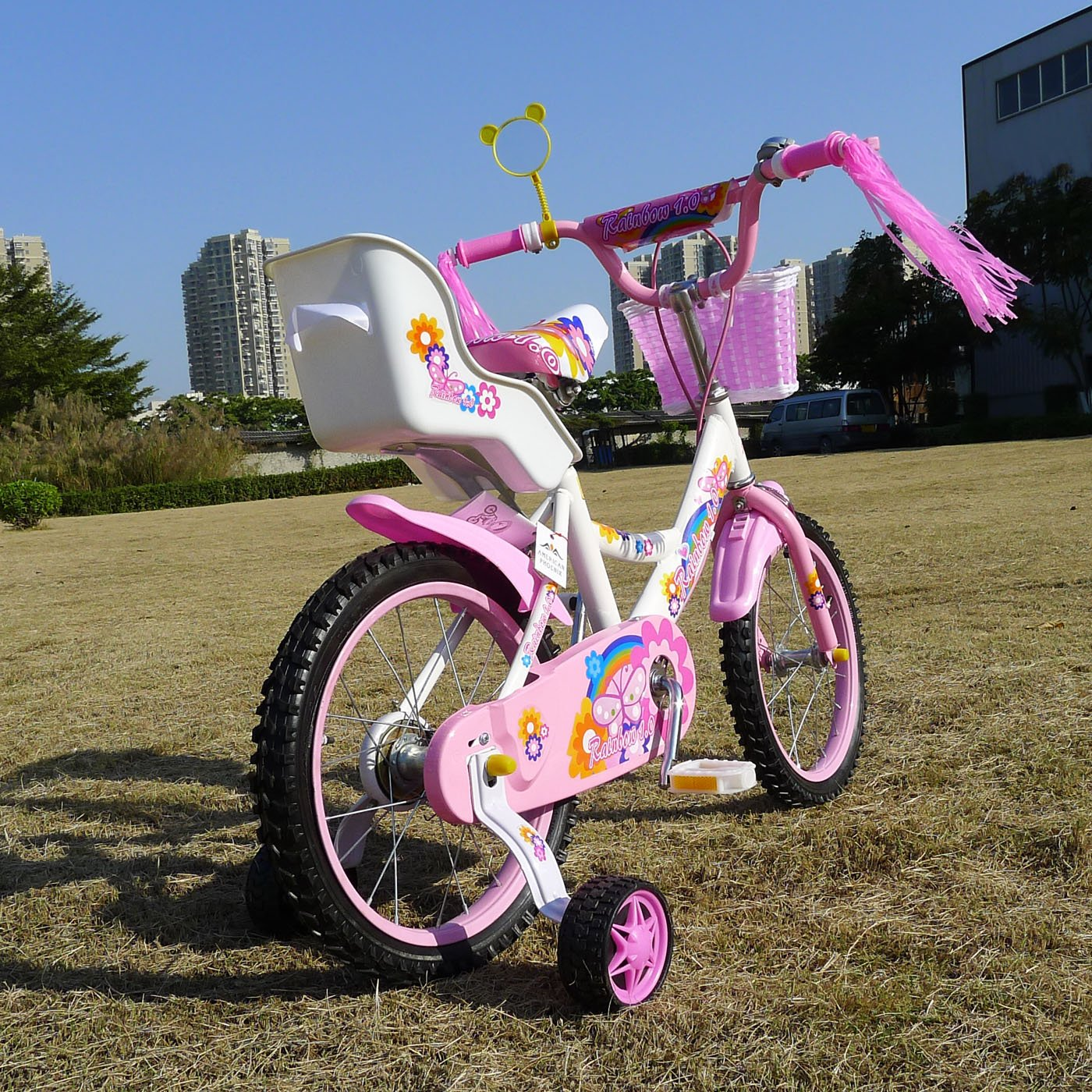 American Phoenix 12-Inch Wheel Girls Bicycle with Seat by American Phoenix (Image #4)