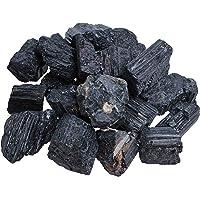 Piedras de turmalina negras/Schörl, piedras de agua sin