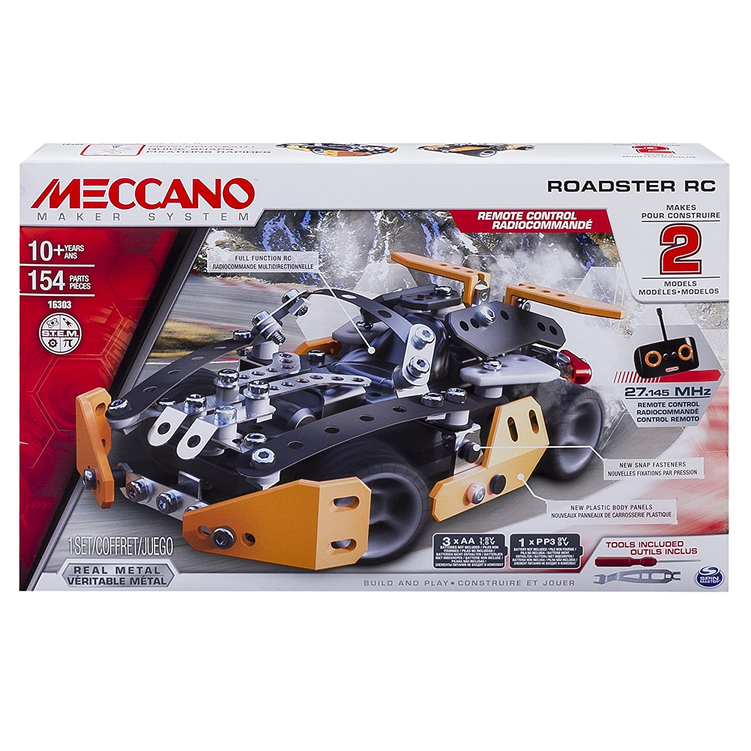 Meccano - Roadster RC - Remote Control Vehicle Spin Master 6028127