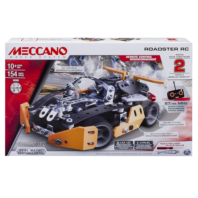 Meccano Erector Roadster RC Model Building Set
