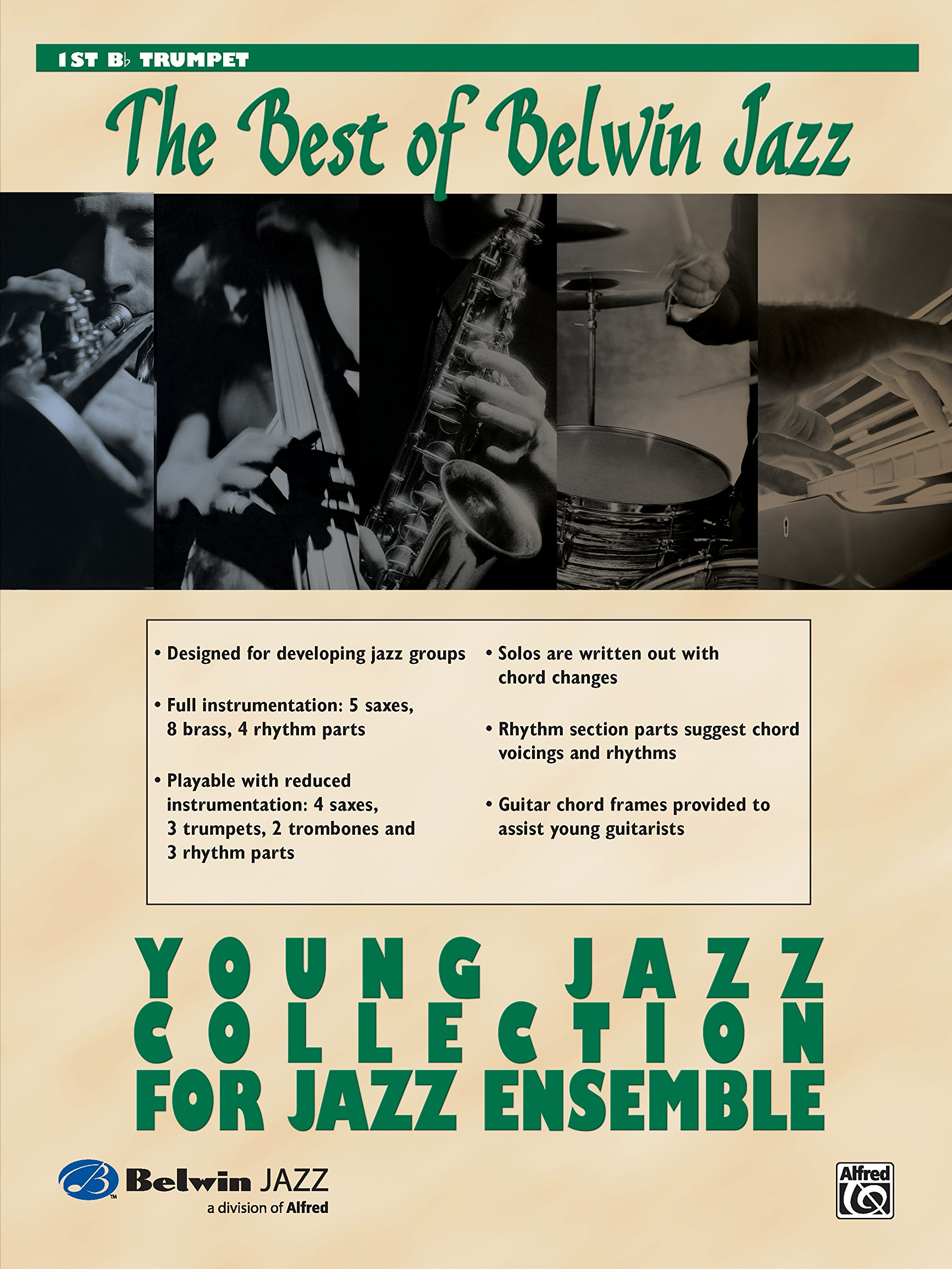 Amazon Young Jazz Collection For Jazz Ensemble 1st B Flat