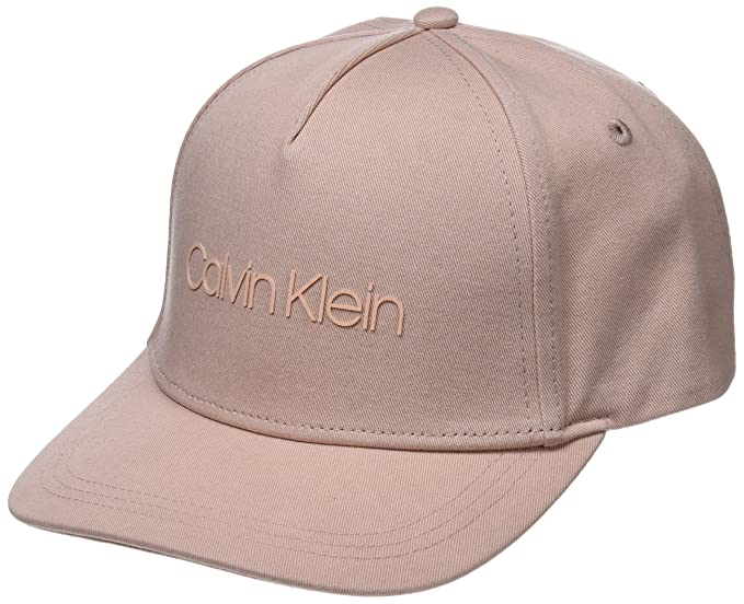 W Baseball Cap, Beige (Nude 628), One Size (Manufacturer Size: OS) Calvin Klein