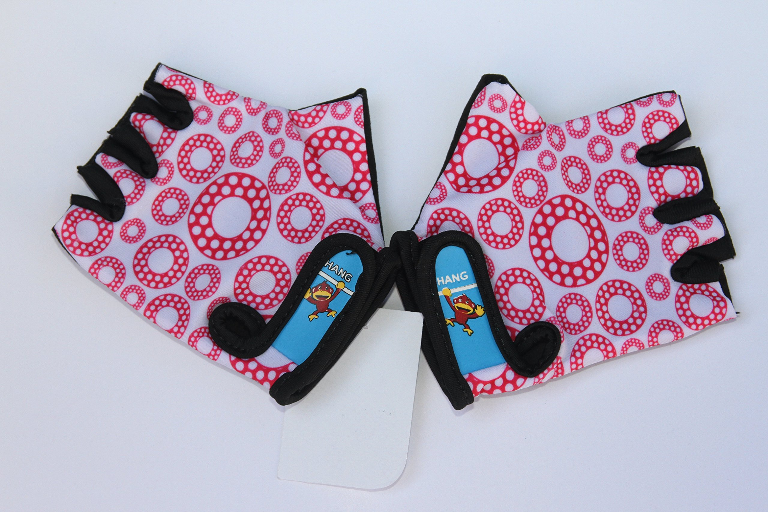 HANG Monkey Bars Gloves (Kids 5 and 6) with Grip Control