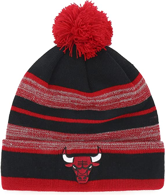 NFL Mens OTS Abenaki Sherpa Knit Cap with Pom
