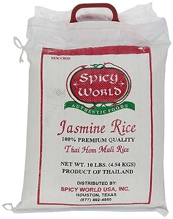 Puro arroz Jasmine de Tailandia Spicy World, bolsa de 10 ...