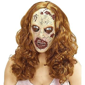 WIDMANN - Máscara para disfraz de adulto zombi (1013)