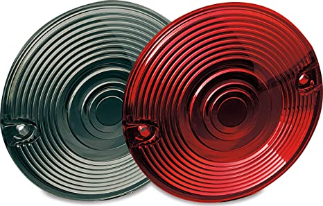 2267 Kuryakyn Replacement Red Turn Signal Lenses