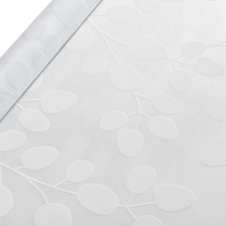 Sichtschutzfolie 50cm x 4m statisch Milchglasfolie Folie gestreift