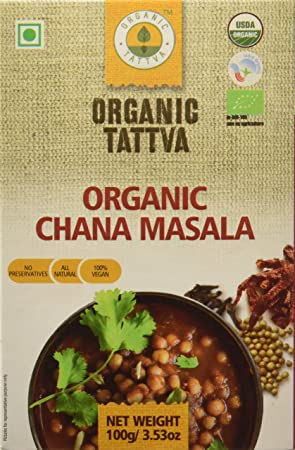 Organic Tattva Chana Masala, 100g