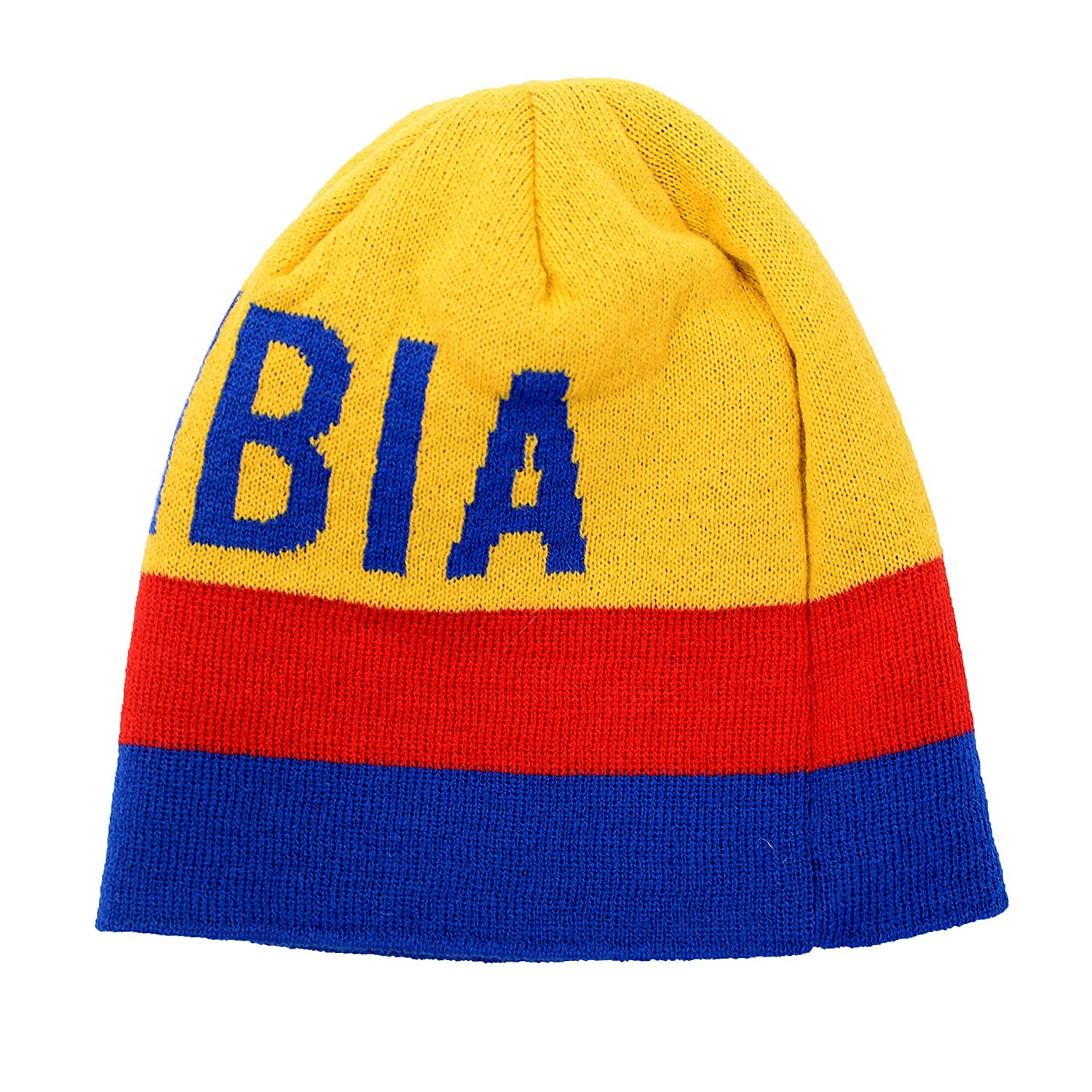 Colombia Embroidered Beanie Cap Winter Hat