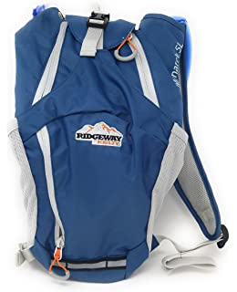 Hydration Pack Ridgeway by Kelty Monarch 5L- aqua blue camping backpack BIKING, HIKING,