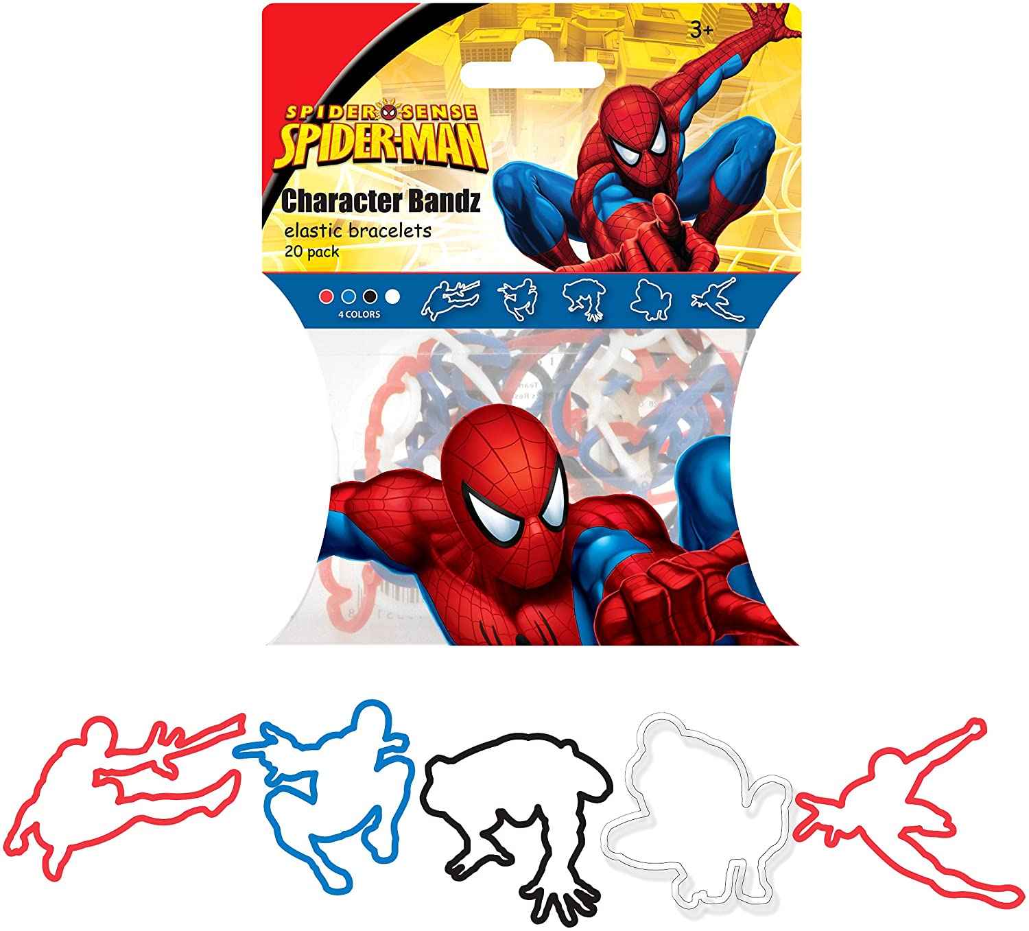 Spiderman Logo Bandz by Forever Collectibles