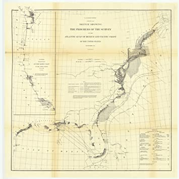 Mexico Maine Map.Amazon Com Vintography C 1864 18 X 24 Reproduction Old Map Chart