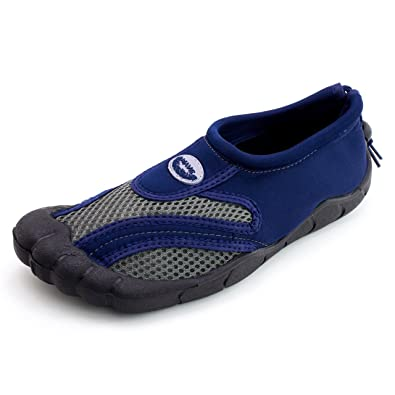 Men's Outdoor Beach Pool Creek Aqua Toe Water Shoes (Adults)
