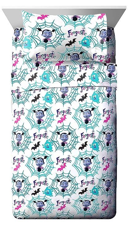 Amazon Com Jay Franco Disney Vampirina Twin Sheet Set Super Soft