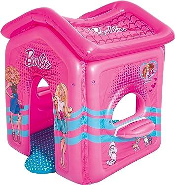 Casita Infantil Hinchable Bestway Barbie Malibu: Amazon.es ...