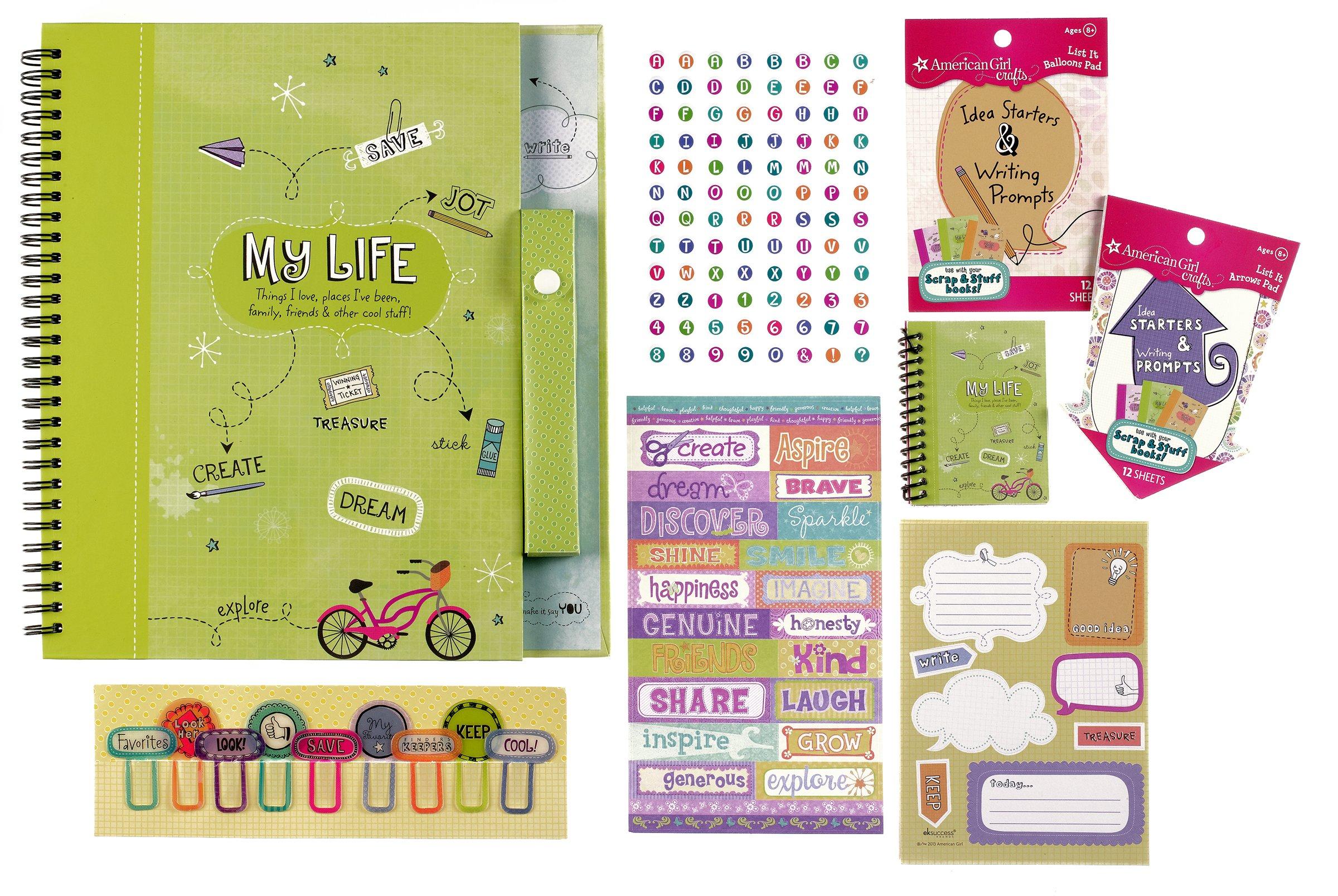 American Girl Crafts Scrap and Stuff Gift Set