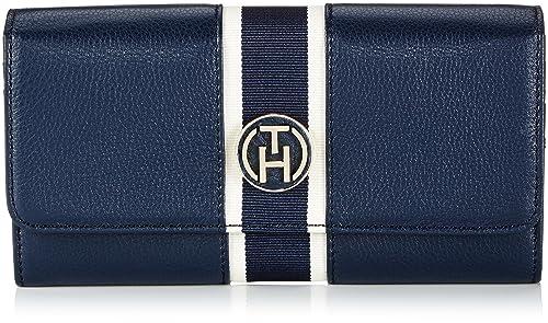 Tommy Hilfiger Claire Large EW Wallet - Monedero de Lona Mujer