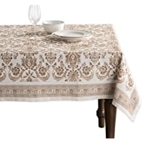 Maison d' Hermine Allure 100% Cotton Tablecloth 54 Inch by 54 Inch.