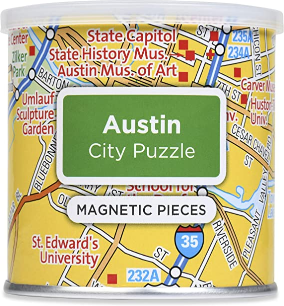 1 EA Geotoys Puzzle Magnetic Portland