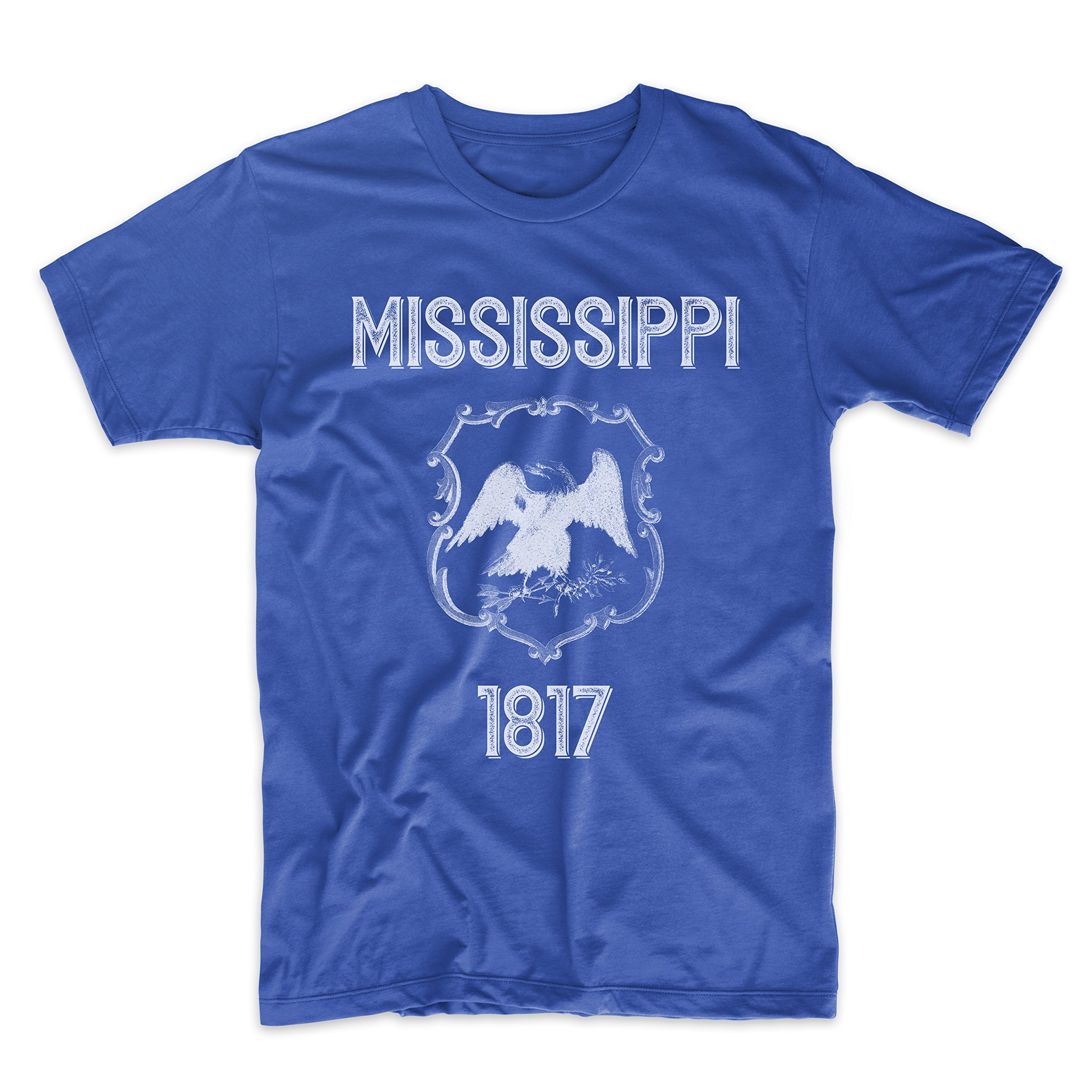PatentPrints Mississippi Coat of Arms T Shirt