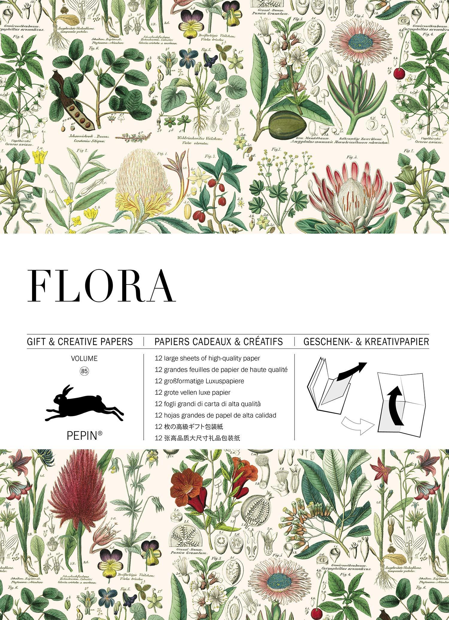 Flora: Gift & Creative Paper Book Vol. 85 (Gift & creative papers (85)) (Inglés) Tapa blanda – 1 ago 2018 Pepin Van Roojen Pepin Press B.V. 9460090974 Handicrafts
