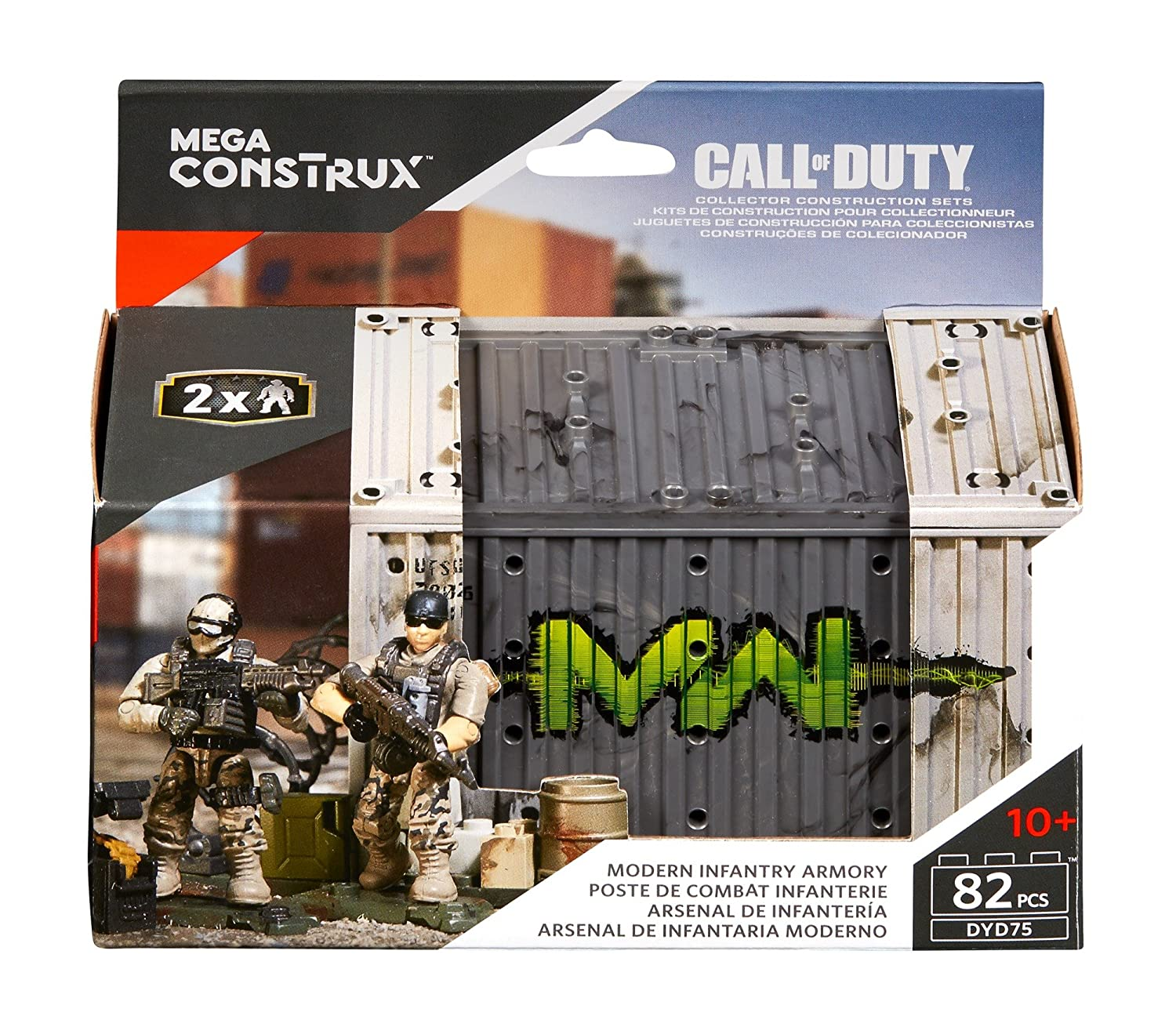 amazon com mega construx call of duty modern infantry outpost