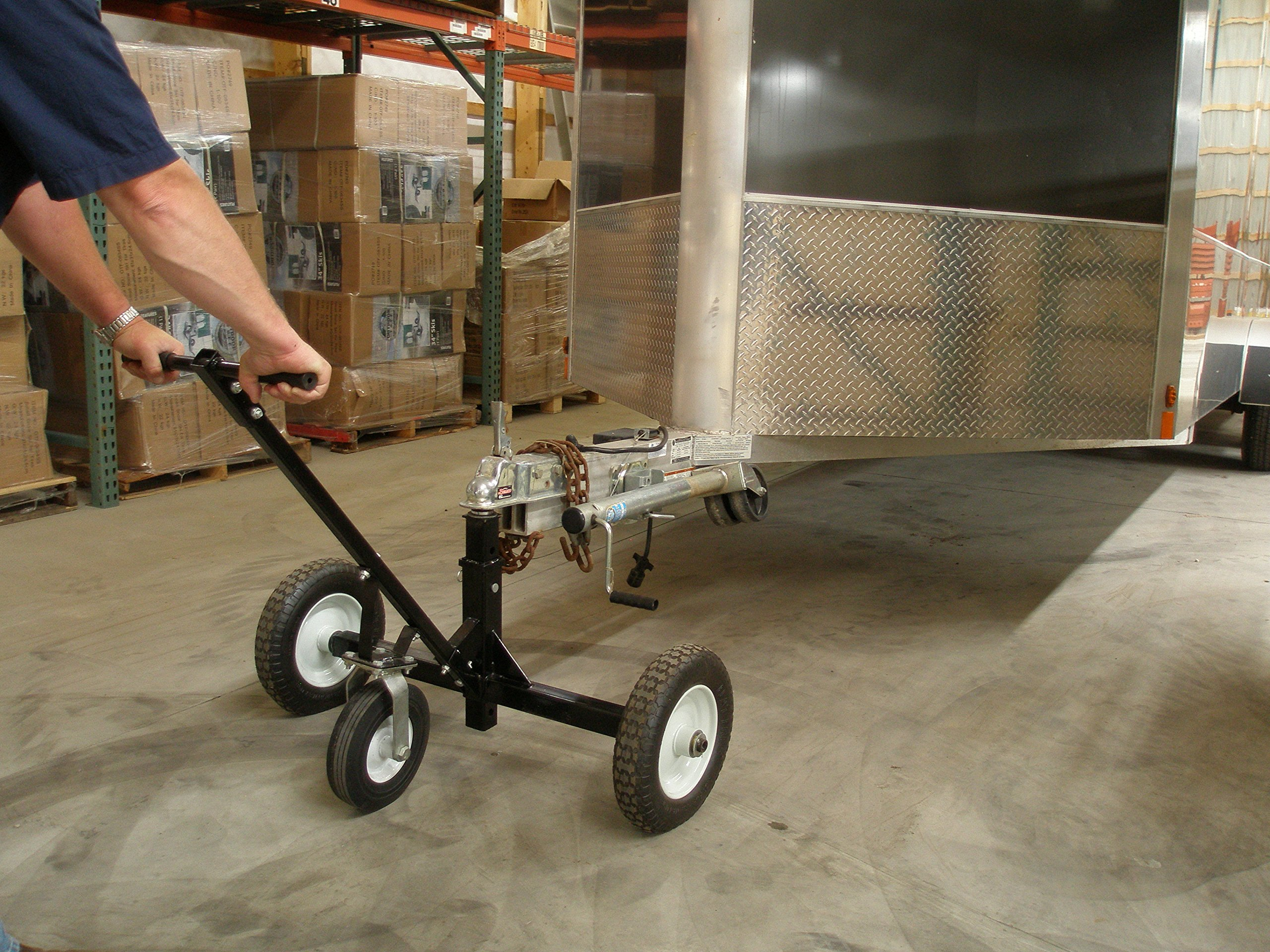 Tow Tuff HD Dolly Adjustable Trailer Moves with Caster by Tow Tuff (Image #5)