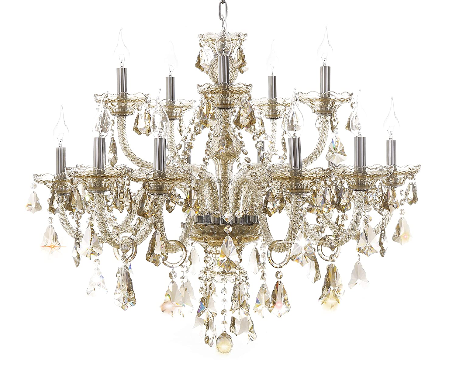 Generic Island Lights Crystals Chandelier 15 Lights