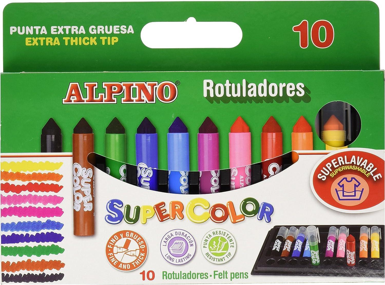 Alpino AR000011 - Estuche Supercolor, 10 unidades: Amazon.es: Oficina y papelería