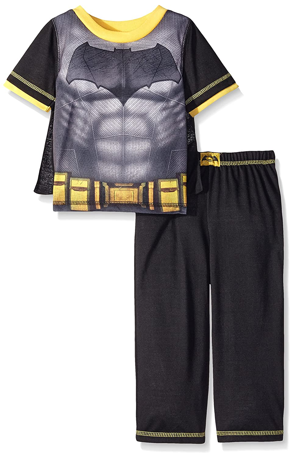 Batman boys Little Boys 2 Piece Set with Cape Black 2T K182423DJ
