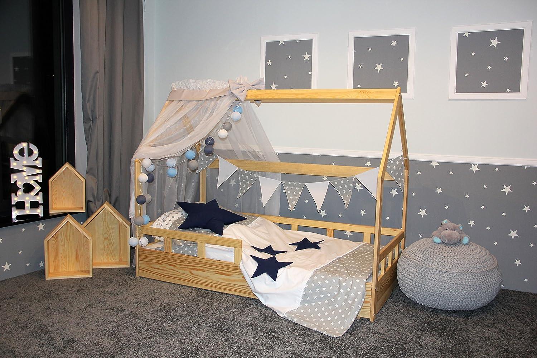 Oliveo Montessori, casa Cama con barreras, niño, casa de Cama ...