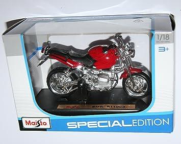 Amazon.com: Maisto – Maqueta de motocicleta BMW R1100R Rojo ...