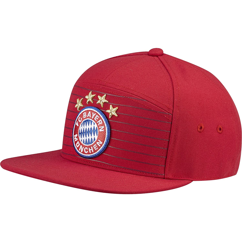 adidas FC Bayern Heim Mütze FCB True Red/White OSFM ADIEY|#adidas S95111