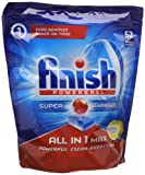 Finish All-in-1 Max Lemon Dishwasher Tablets (Pack of 52)
