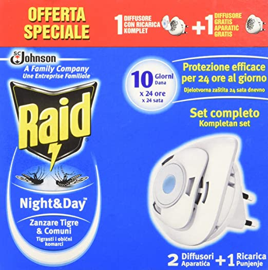 4 opinioni per Raid Night & Day Base + Base