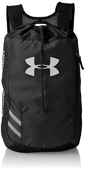 Under Armour Trance Polyester Black Drawstring Bag (1248867-001 ... 352a67c44f10