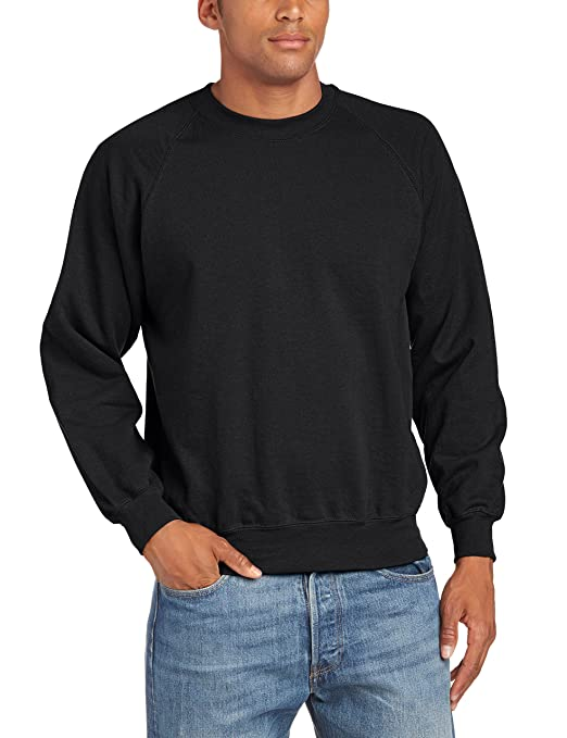 222 opinioni per Fruit of the Loom Raglan Sweatshirt- Felpa a manica lunga da uomo