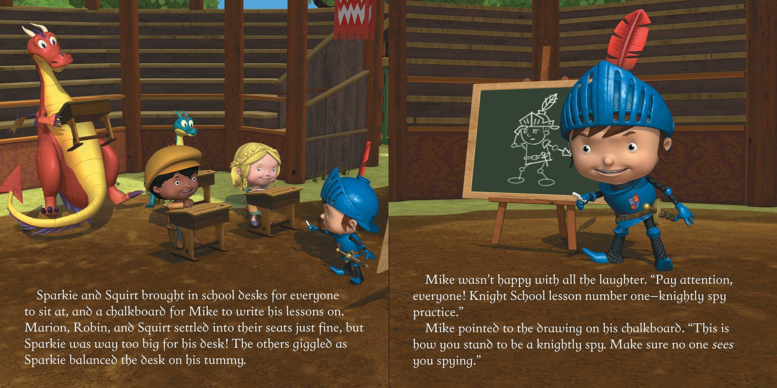 knight school mike the knight daphne pendergrass