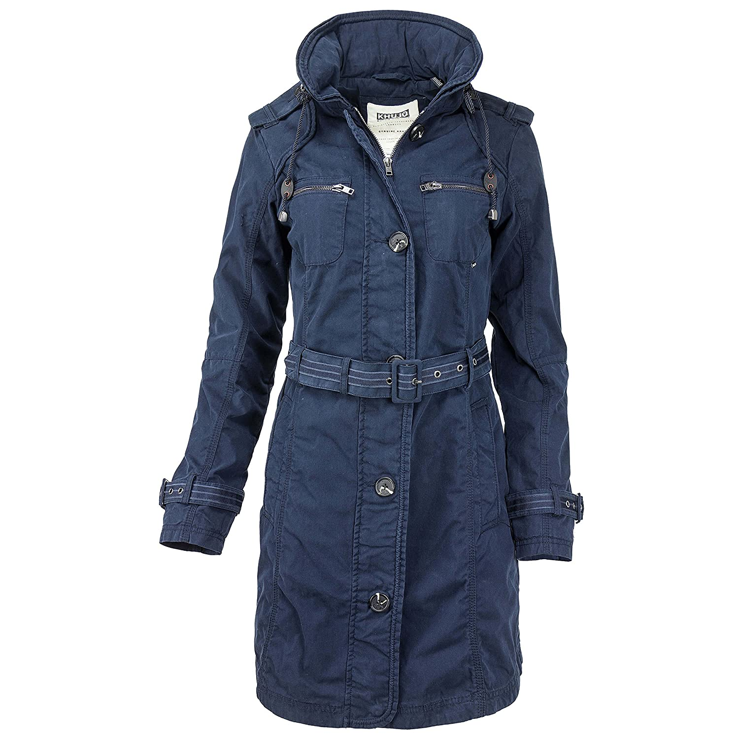new style 9335f c9e2d Khujo Damen Trenchcoat Mantel high-quality - www ...