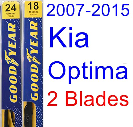 Amazoncom 2007 2015 Kia Optima Replacement Wiper Blade Setkit