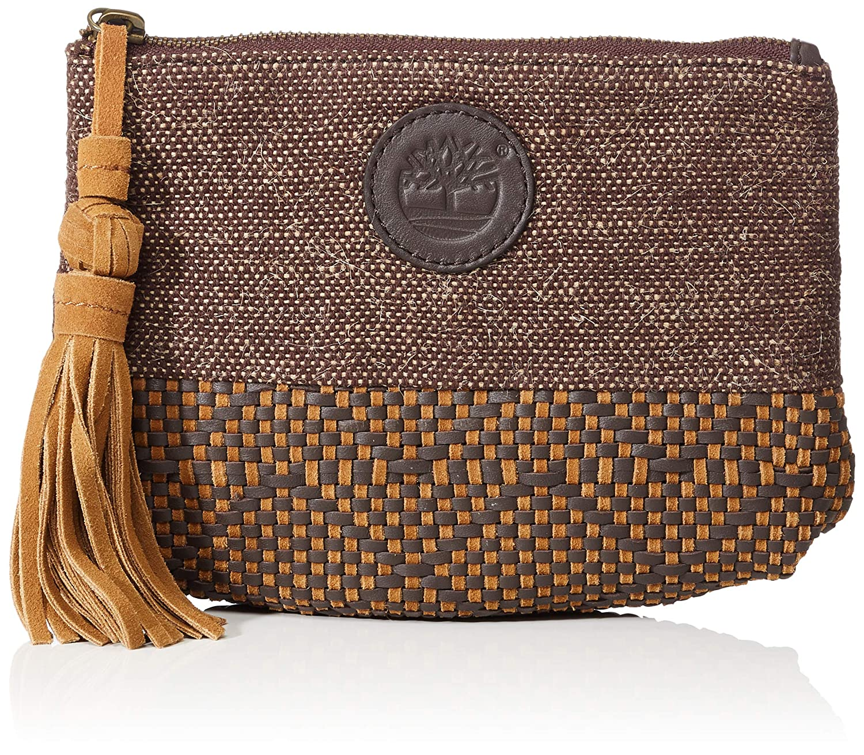Timberland Tb0m5771, Borsa a Mano Donna, 1x15.5x22 cm Beige (British Khaki)