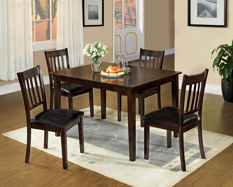Amazoncom Furniture of America Letta 5 Piece