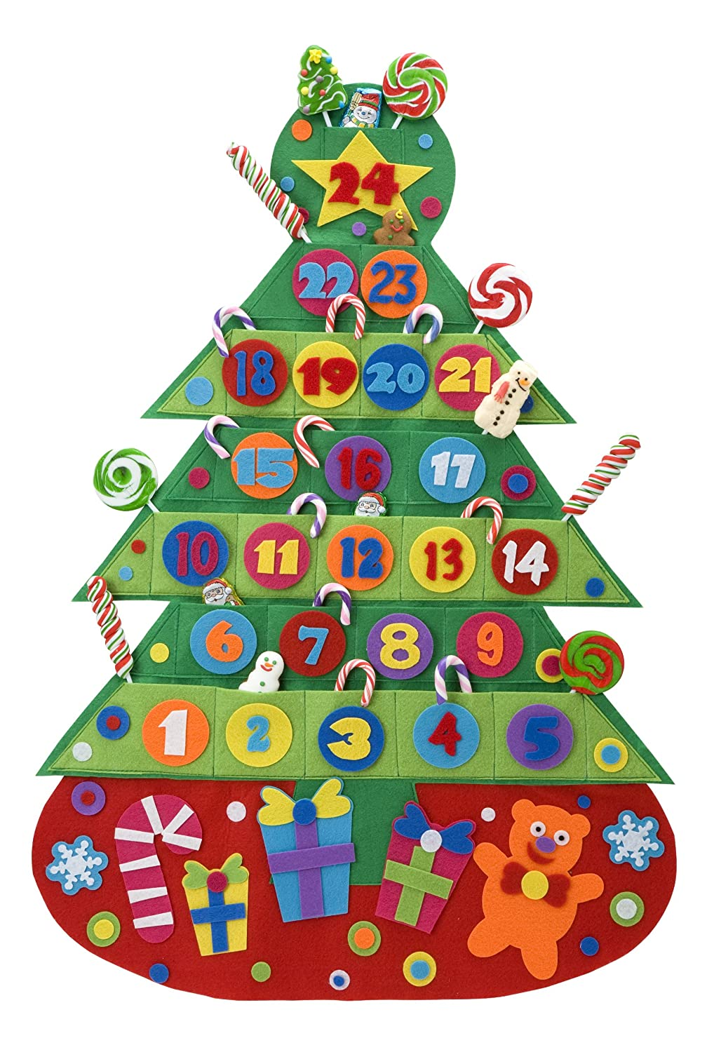 advent calendar kits for kids to make or decorate