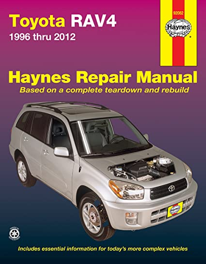 amazon com haynes 92082 toyota rav4 96 12 manual automotive rh amazon com 1998 Toyoya RAV4 1998 Toyota Rav